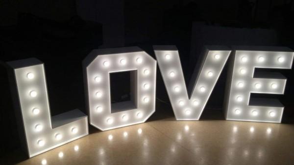 Napis stojący LOVE 100 cm