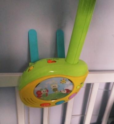 Karuzela niemowlęca z muzyka